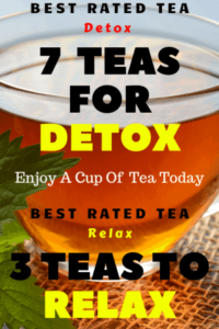7 Top Rated Teas For Detox