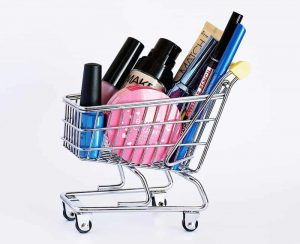 Shopping Cart Full Of Oversized Products